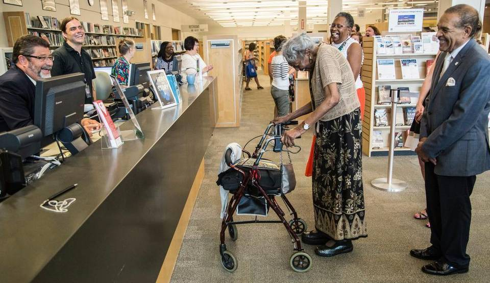 92-Year-Old Woman Receives Library Card 73 Years After
