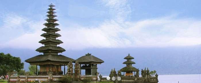 Temple in Bedugul, Bali