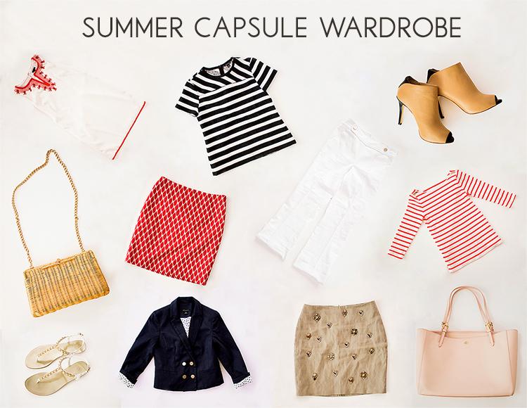 Summer Capsule Wardrobe