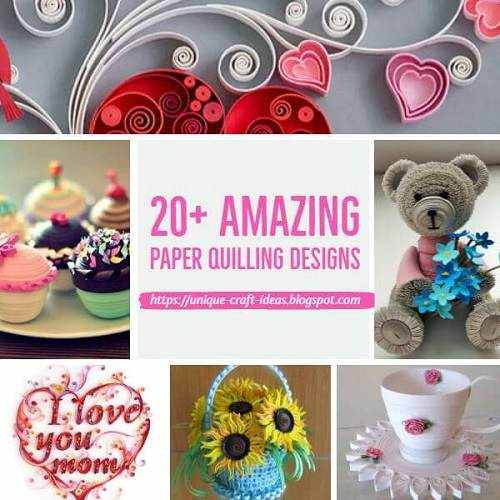 20 Amazing Paper Quilling Ideas And Crafts