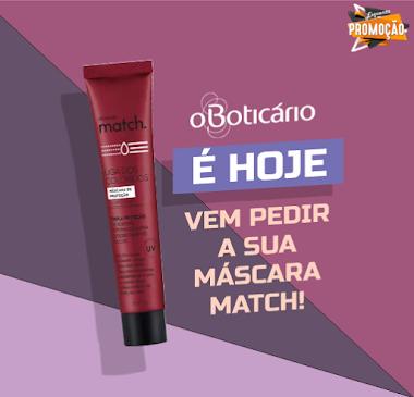 Brindes Grátis - Match Máscara Capilar Liga dos Coloridos - O Boticário