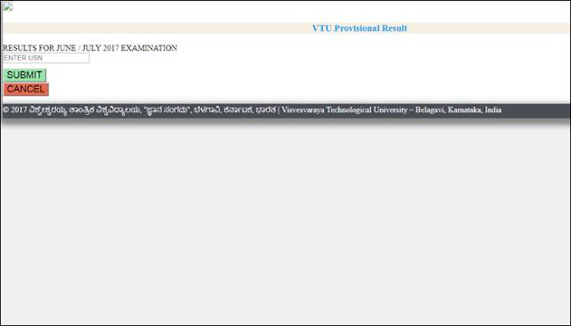 Visvesvaraya Technological University , 8th sem results declared.