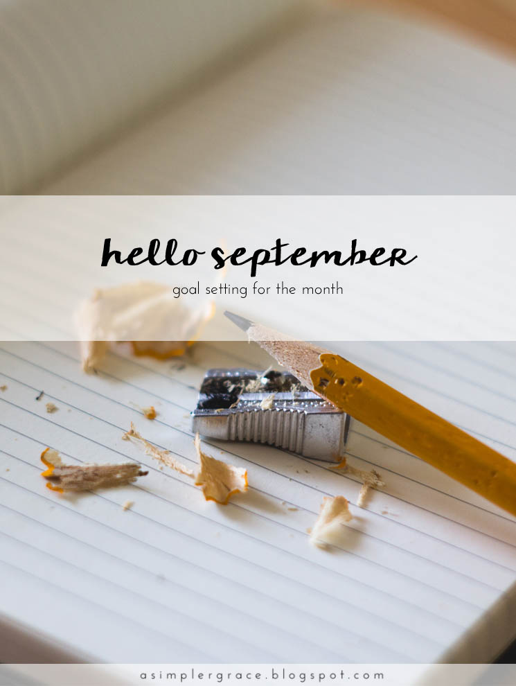 I'm sharing the monthly goals I've set both in my personal and blogging life. #goals