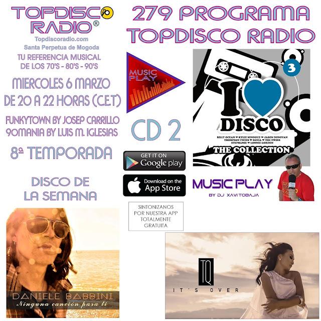 279 PROGRAMA TOPDISCO RADIO