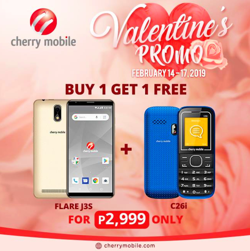 Cherry Mobile Valentines 2019