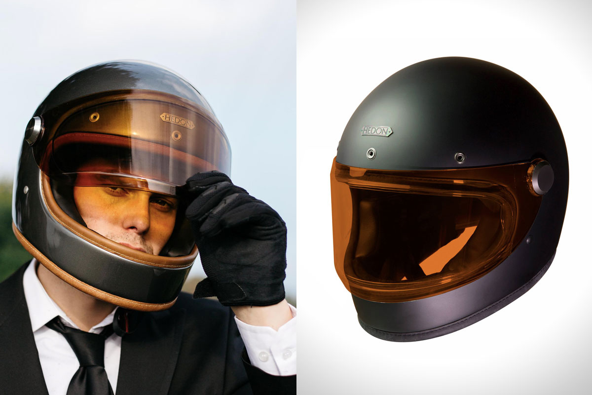 Riding Gear Hedon Heroine Helmet Return Of The Cafe Racers