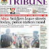 NAIJA NEWSPAPERS: TODAY'S THE TRIBUNE NEWSPAPER HEADLINES [15 SEPTEMBER, 2017]