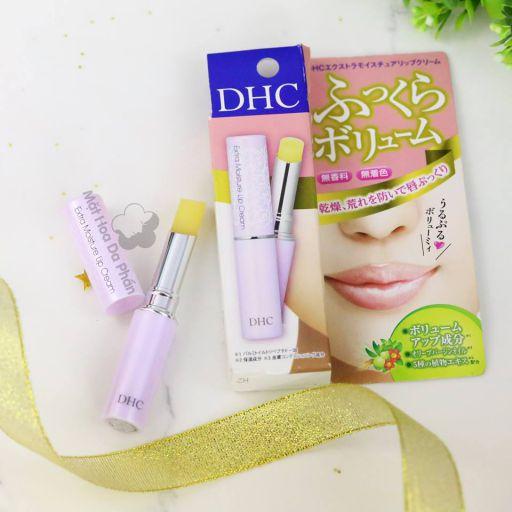 đánh giá son dưỡng DHC Extra Moisture Lip Cream giá rẻ