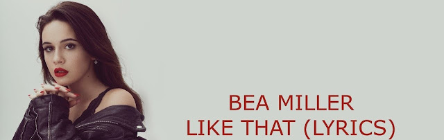 Video: Bea Miller - like that