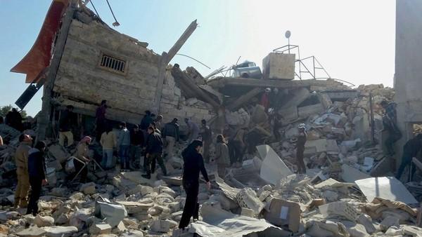 Rusia Serang Beberapa Rumah Sakit di Suriah