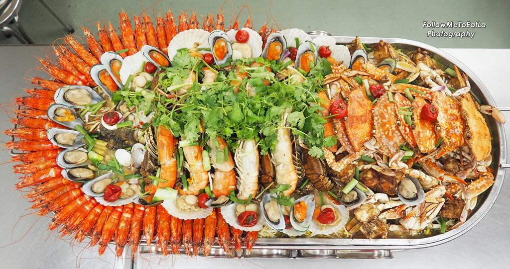 Follow Me To Eat La - Malaysian Food Blog: FATT KEE ROAST FISH 發記招牌特色烤鱼 Jumbo Seafood Platter ...
