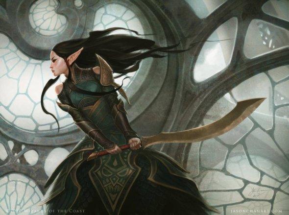 Jason Chan artstation deviantart arte ilustrações fantasia games magic gathering league legends livro espinhos thorns