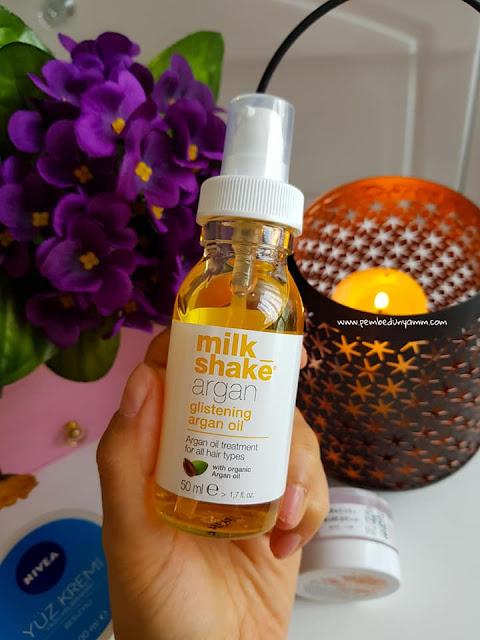 milkshake argan yağı