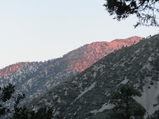 View west from Icehouse Canyon