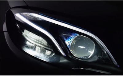 Mercedes-Benz E-Class multi beam headlight Hd Pictures