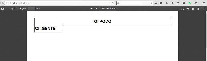 como gerar pdf com o php