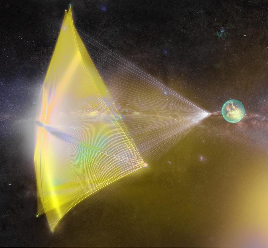Starshot Breakthrough Initiative For Laser Pushed Interstellar