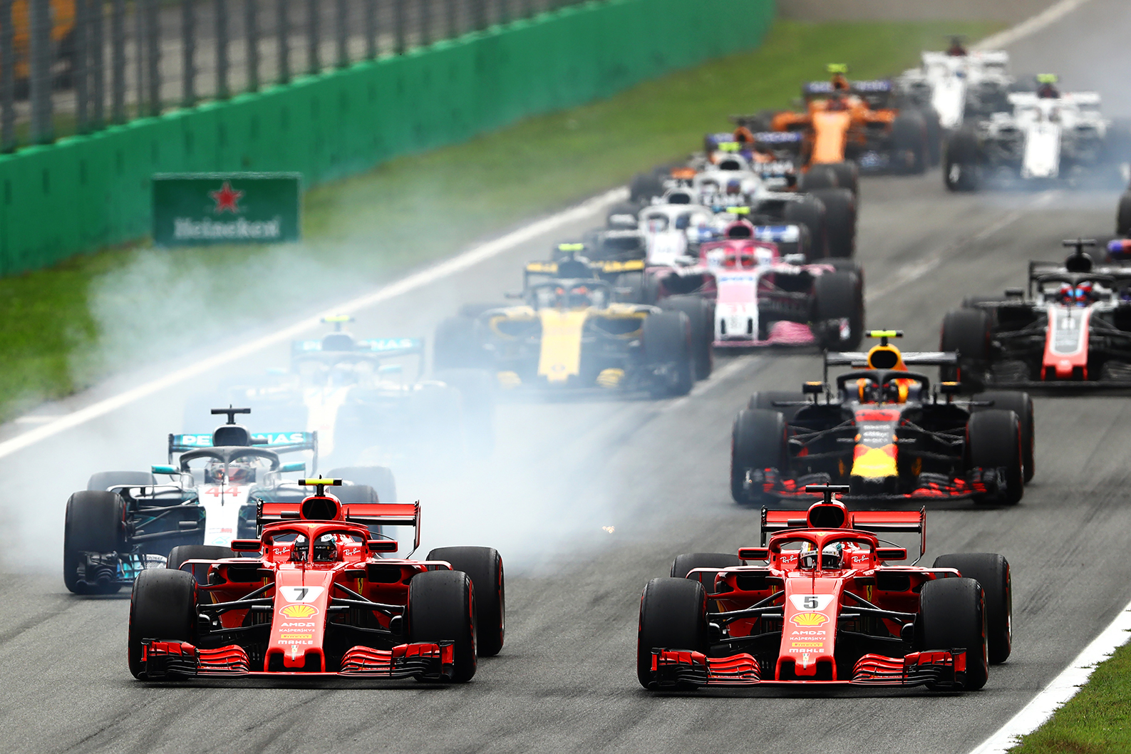 What A Race Weekend! 2018 Italian GP of F1 - Dro For Cars