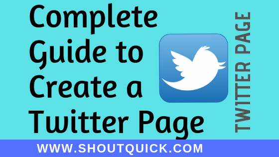 Twitter Guide : Creating a new Branding Account