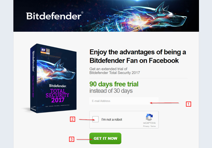 Bitdefender 2017 Licencia