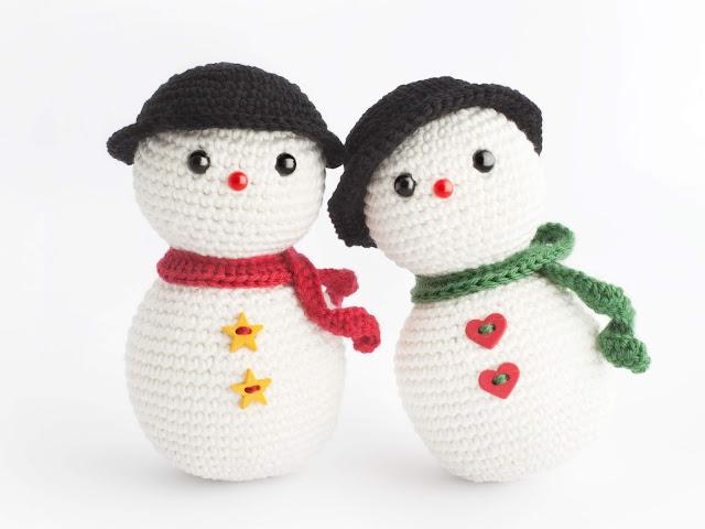 amigurumi-snowman-free-pattern-crochet-muneco-nieve-patron-gratis