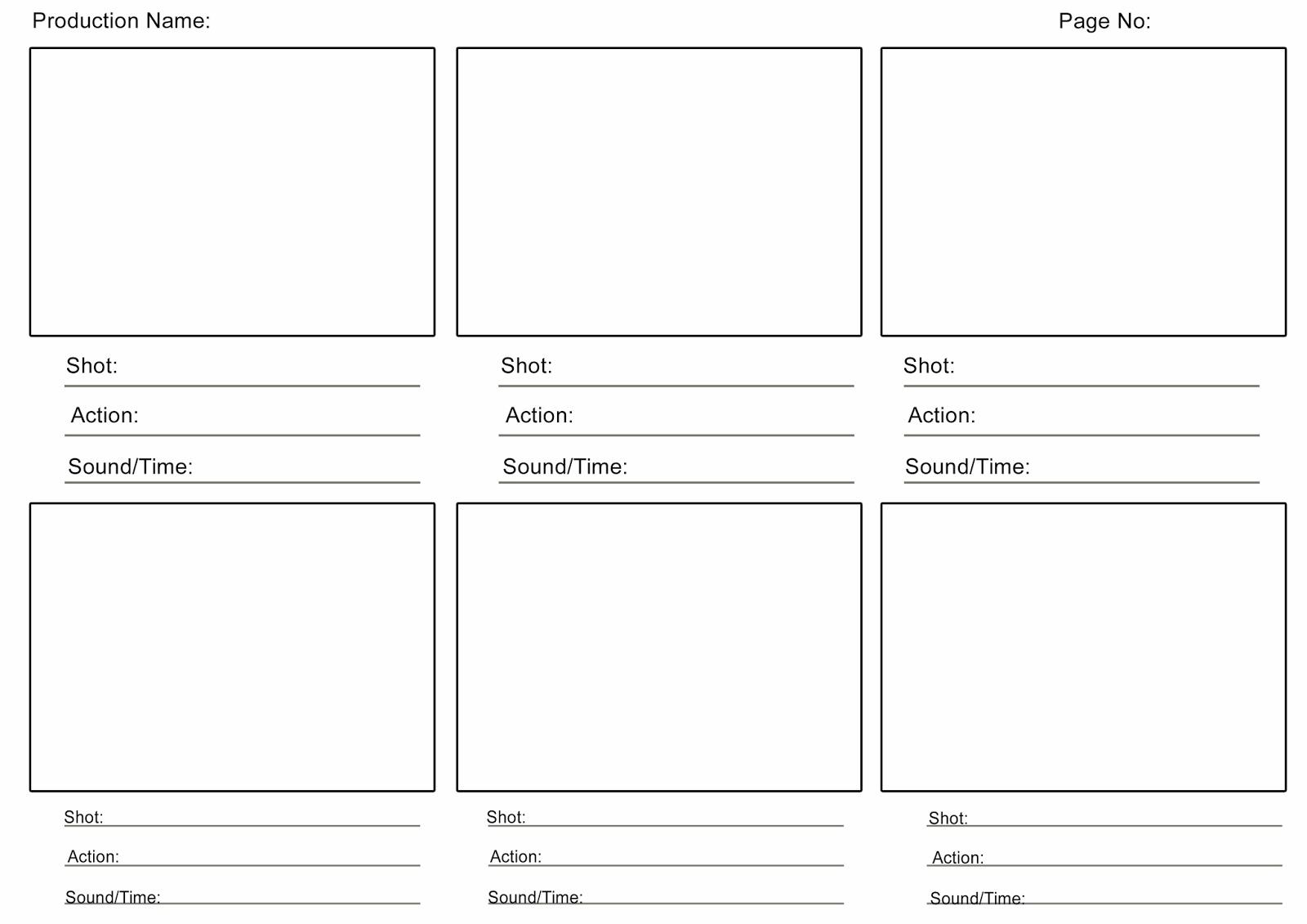 Como hacer gui n gr fico o story board ayuda para tu for Film storyboard template word