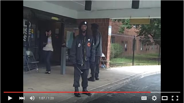 Black panthers intimidating voters in ohio