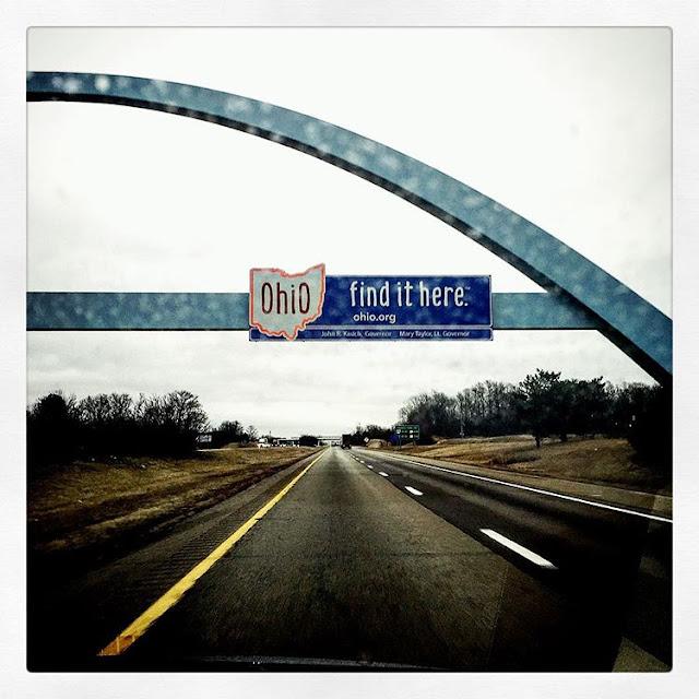 road trip, ohio