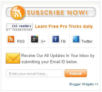 Share Box Widget For Blogger Blog Aptech India