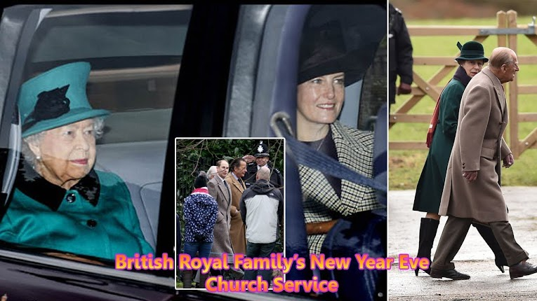 British Royal Family Attended 2018 New Year Eve Church