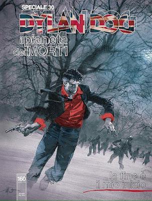 Dylan Dog Speciale #30 - Il Pianeta dei Morti - La fine è il mio inizio (copertina di Massimo Carnevale)