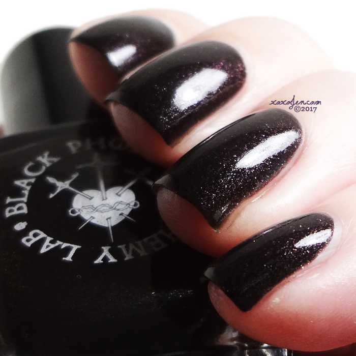xoxoJen's swatch of Black Phoenix Alchemy Lab The Jeweled Spider