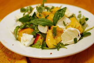 Tortured Peach Salad from We Like To Cook