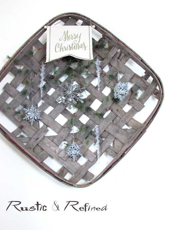 Christmas Decor for the Rustic Decor Lover