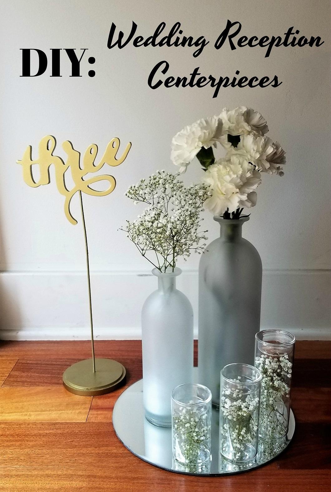 DIY Inexpensive Wedding Reception Centerpieces - La Vie en ...