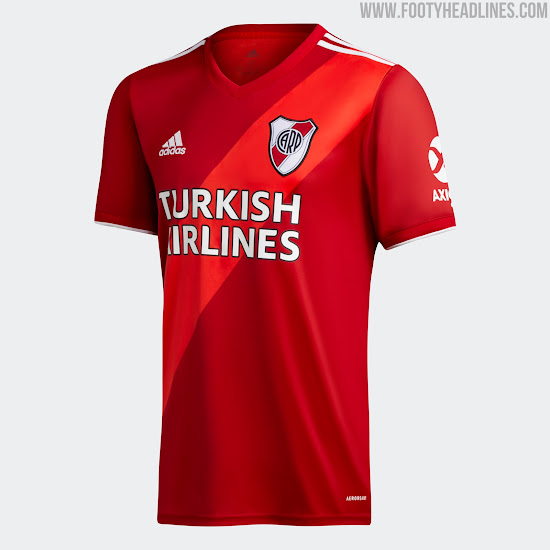 River Plate 20-21 Away Kit Released - Stylish Classic Adidas ...