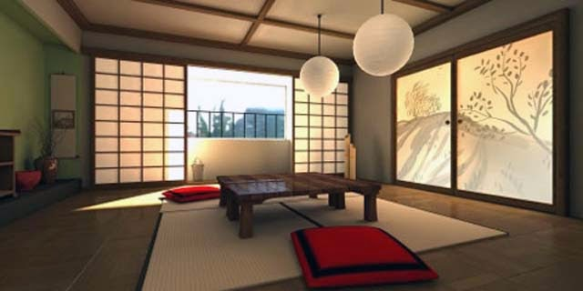 Traditional Japanese Interior Home Design picture