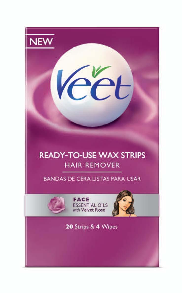 Test Panel Veet Ready To Use Wax Strips Sarah Shah