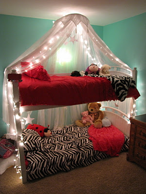 Cookie Nut Creations Friday Feature Lighted Bed Canopy