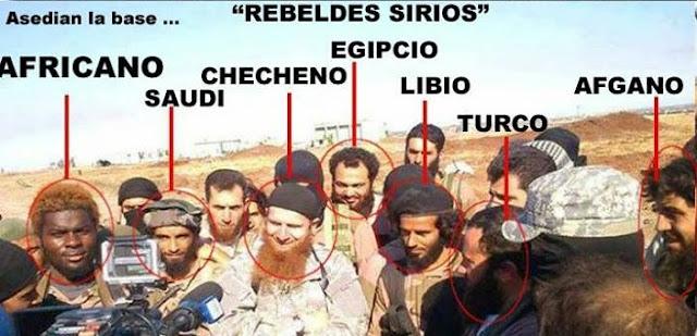 Resultado de imagen para FOTOS MANIPULADAS EN SIRIA