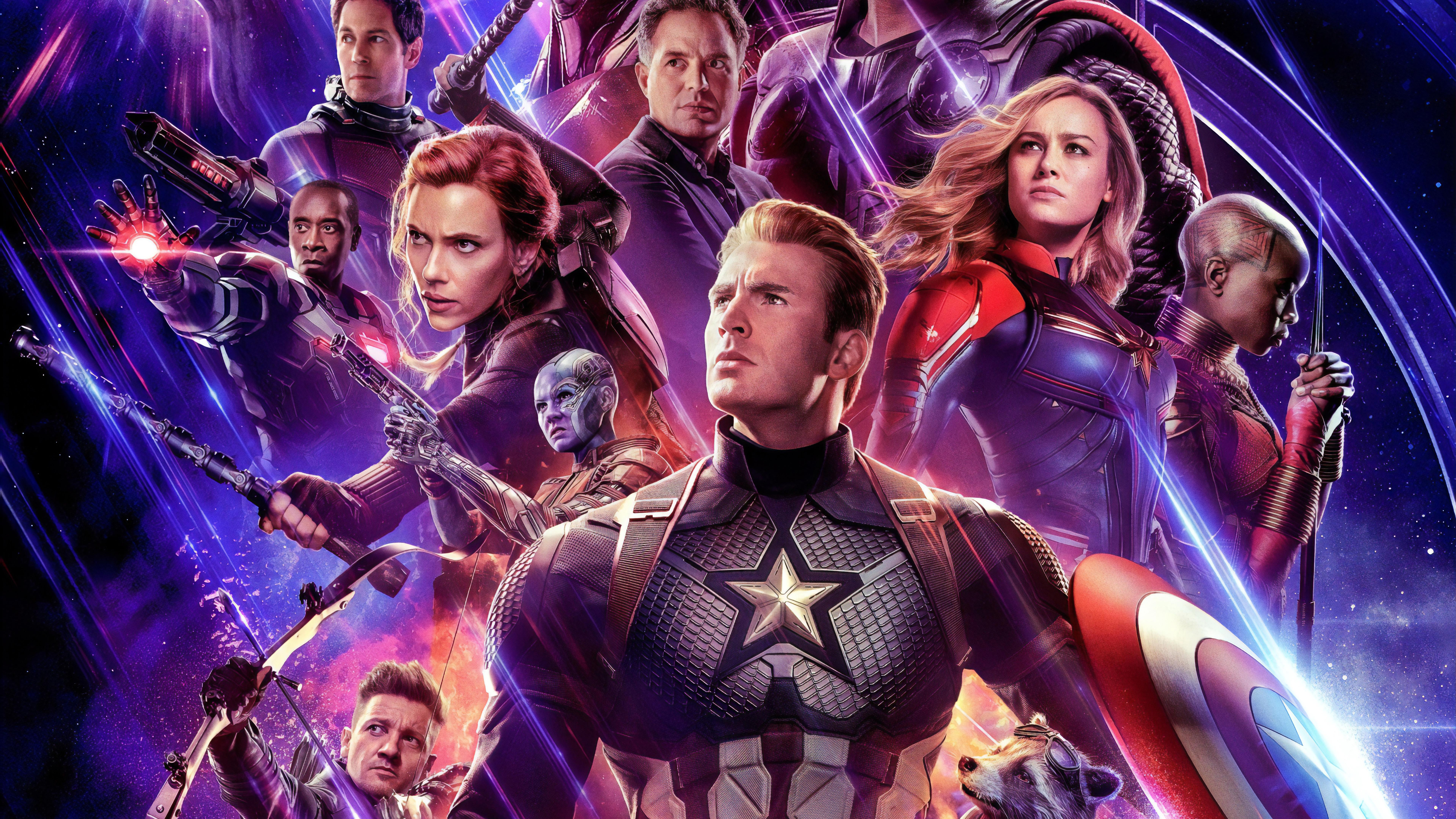 Avengers Endgame Cast Characters 8k Wallpaper 62