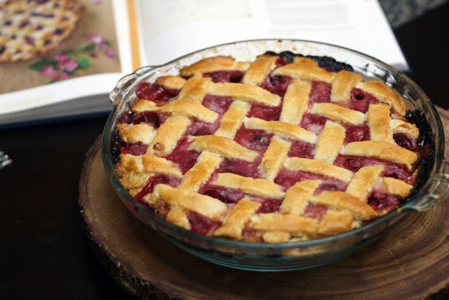 Sour Cherry pie from the Duchess cookbook