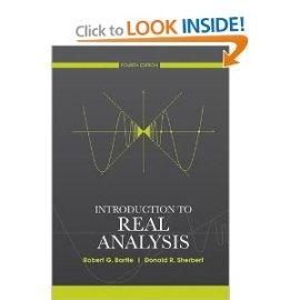 Introduction To Real Analysis bartle Instructor Manual