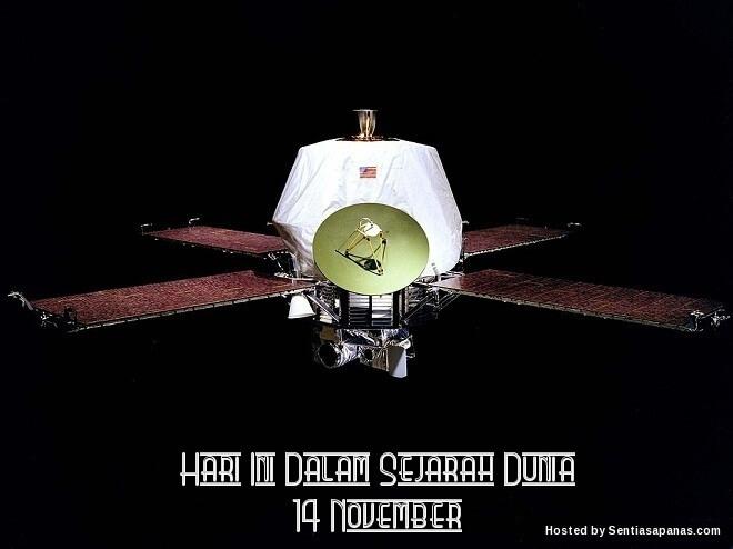 Peristiwa Penting Hari Ini Dalam Sejarah Dunia (14 November)
