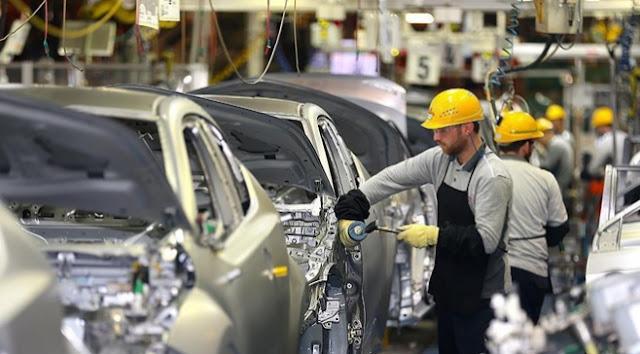 Otomotiv sektörü ihracata ivme verdi.