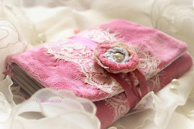 scrapbooking, softbook, handmade, babybook, scrap, pink, girl