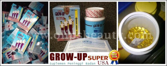 Grow Up Super USA - Suplemen Peninggi Badan Badan