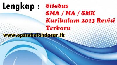 Contoh Silabus PPKn SMK Kurikulum 2013 Lengkap Kelas X, XI, XII