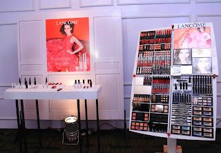 Lancôme make-up range at the Sri Lanka launch