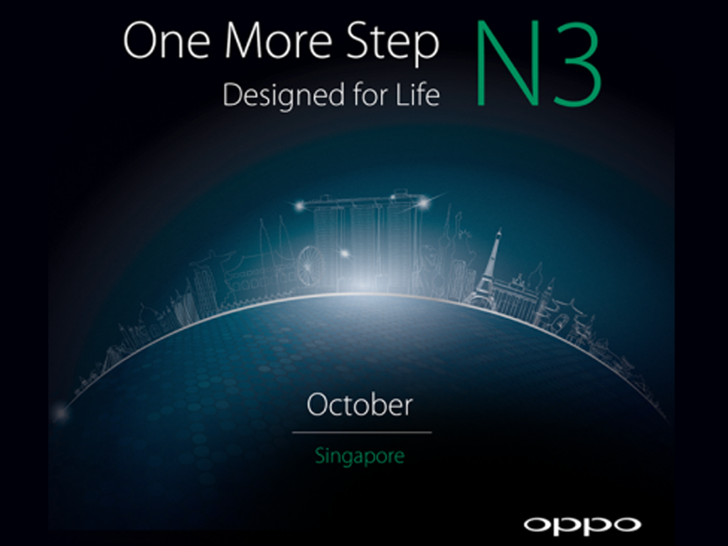 Oppo Set To Launch Oppo N3 on October 29th
